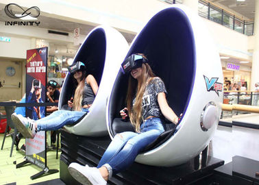 Infinity 9D 720 Peralatan Virtual Reality VR Egg Chair 2 Kursi Untuk Game Zone
