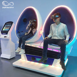 Anak-anak 9D Egg VR Cinema, Shopping Mall Virtual Reality Simulator pemasok