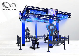 240V Virtual Reality Theme Park Hiburan VR Space Game Simulator pemasok