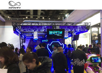 Multi-Player Interaktif Virtual Reality Games VR Walking Platform pemasok