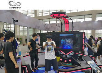 Cina 56 Inch Display VR Shooting Simulator / 9D Virtual Reality Game Machine pabrik