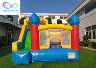 Commercial Grade Kids Parties Inflatable Bouncy Castle With Slide For Outdoor