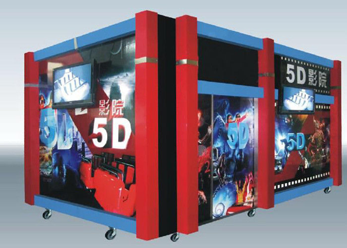Home Hydraulic / Electric Moiton 5D Theater / 7d Cinema Simulator