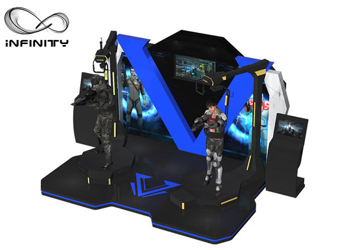 INFINITY 9D Kat Walk VR Flight Simulator Arcade Mesin Virtual Reality Shooting Game pemasok