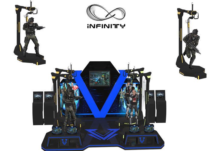 INFINITY Shopping Mall Kat Walk Simulator Menembak Realitas Virtual CE Disetujui