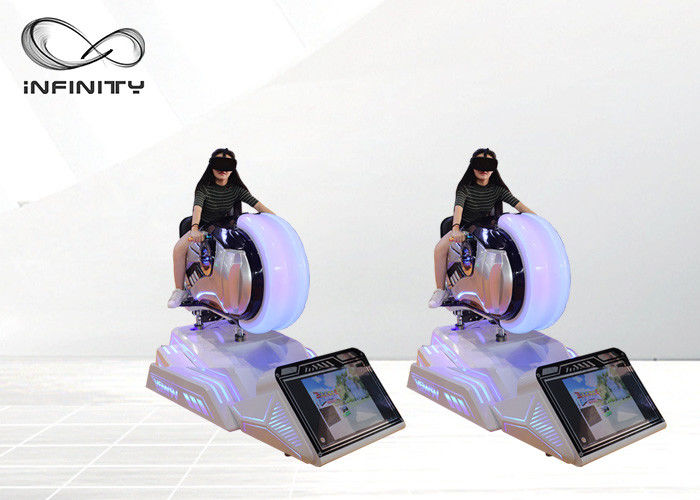 9D VR Racing Game Motorcycle Driving Simulator For Theme Park