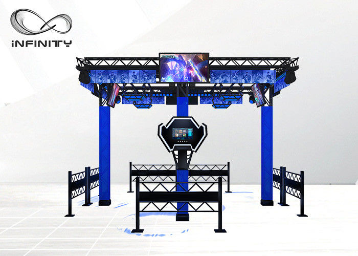 Multi-Player 9D Virtual Reality Walking Platform Permainan Menembak VR