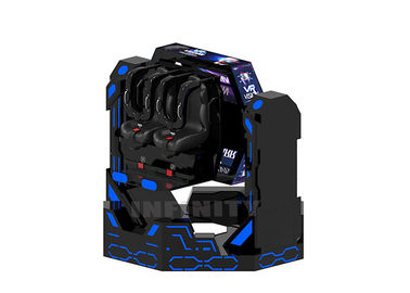 1080 Degree Rotating Spin 9D VR Chair Simulator 2 Seats Virtual Reality Roller Coaster